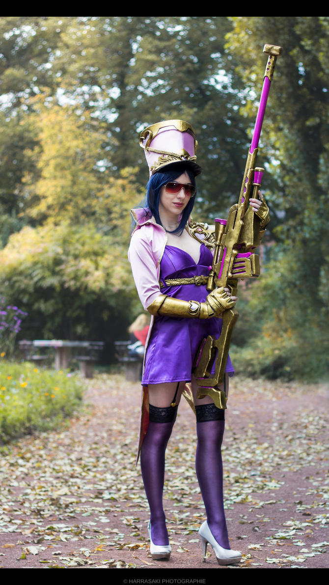 Popstar Caitlyn. Sniper of Charm by LittleMeroko-chan