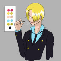 Sanji Fan Art by JTcraft