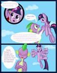 10.No pony spike?