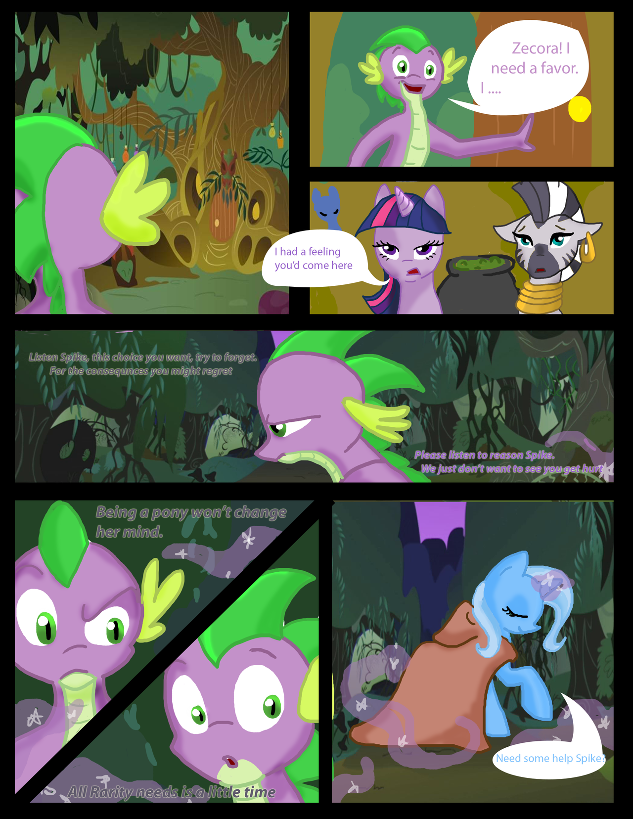 13. No help from Zecora either by sweetchiomlp