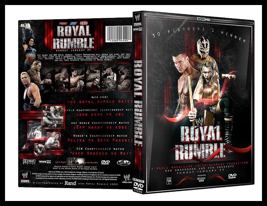 Royal Rumble Custom Cover by carlosdesigns