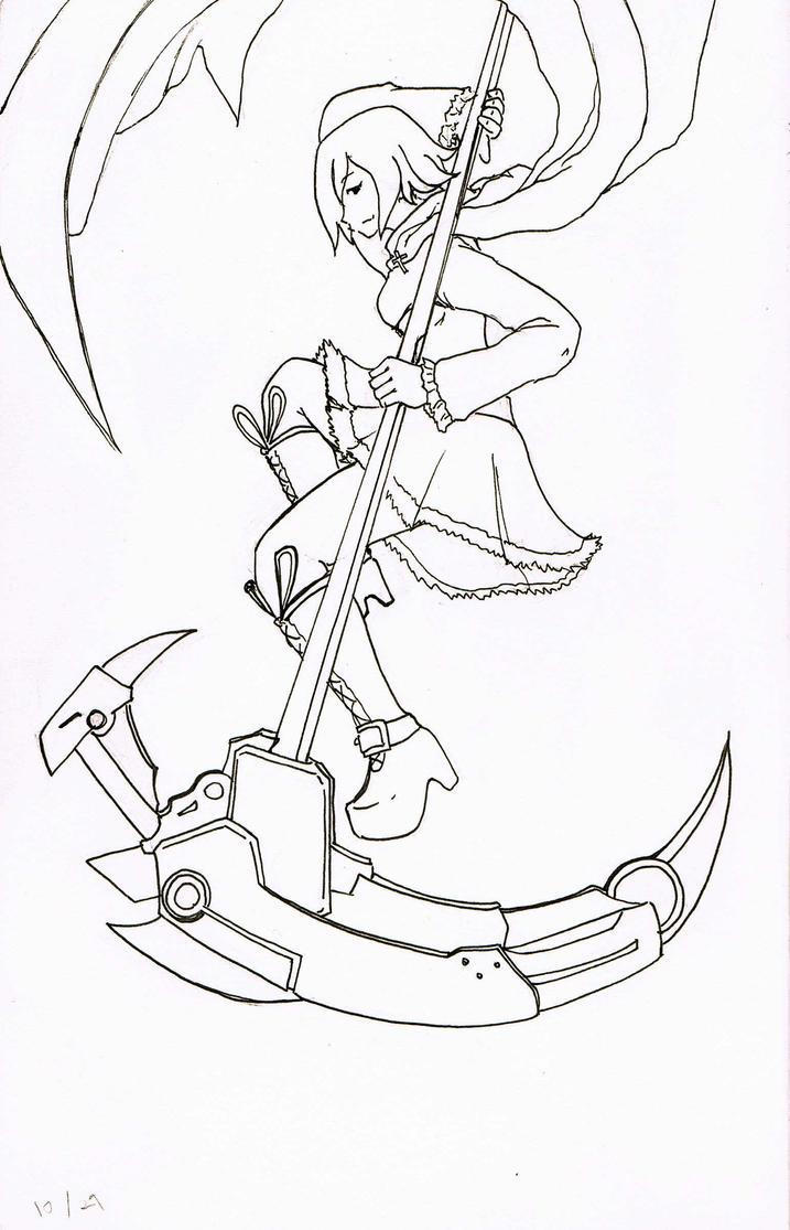 rwby  cycling scythe by shadowxhunter on deviantart