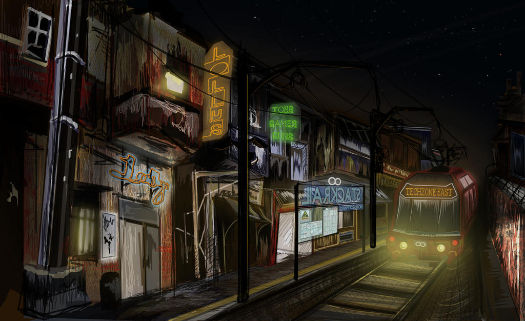 Techzone East by EllyWithAWhy