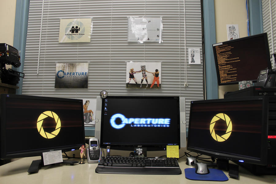 Aperture Laboratories IT Dept2 by ChrisInVT