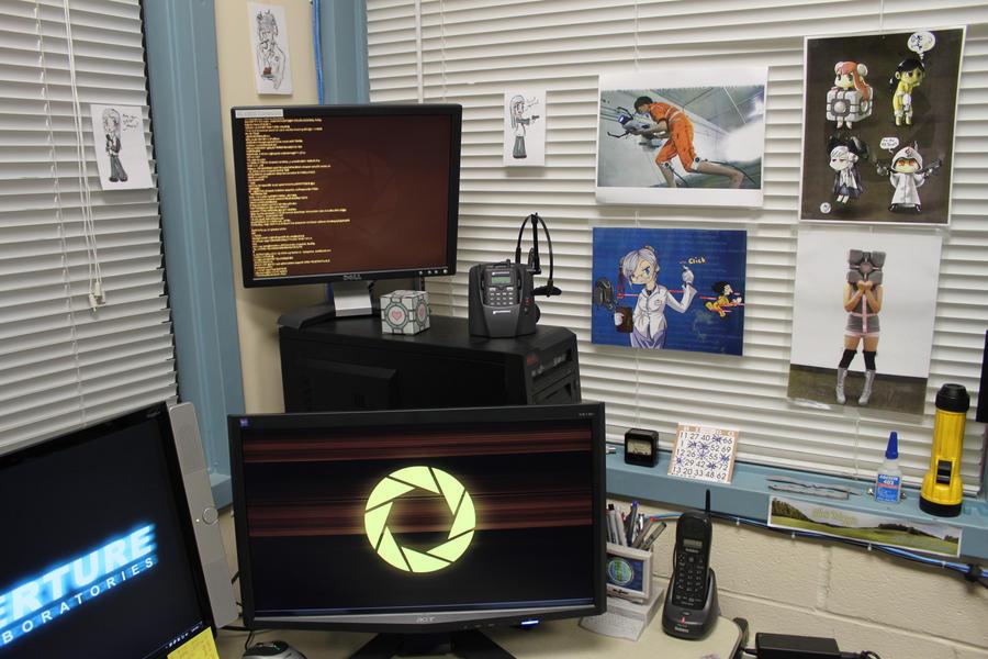Aperture Laboratories Office 2 by ChrisInVT