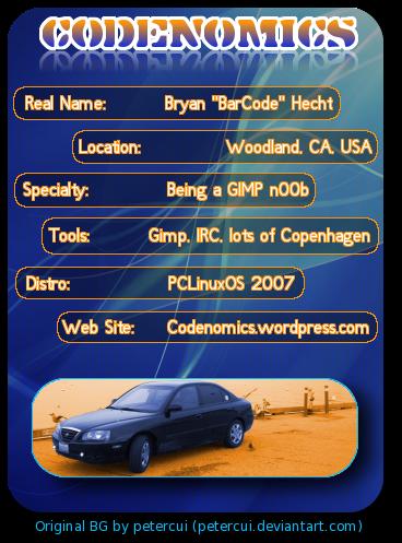 codenomics's Profile Picture