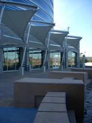 Tempe Lake Park Buildings by codenomics