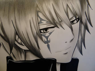 Draw this again: Jellal Fernandes by Jennux3