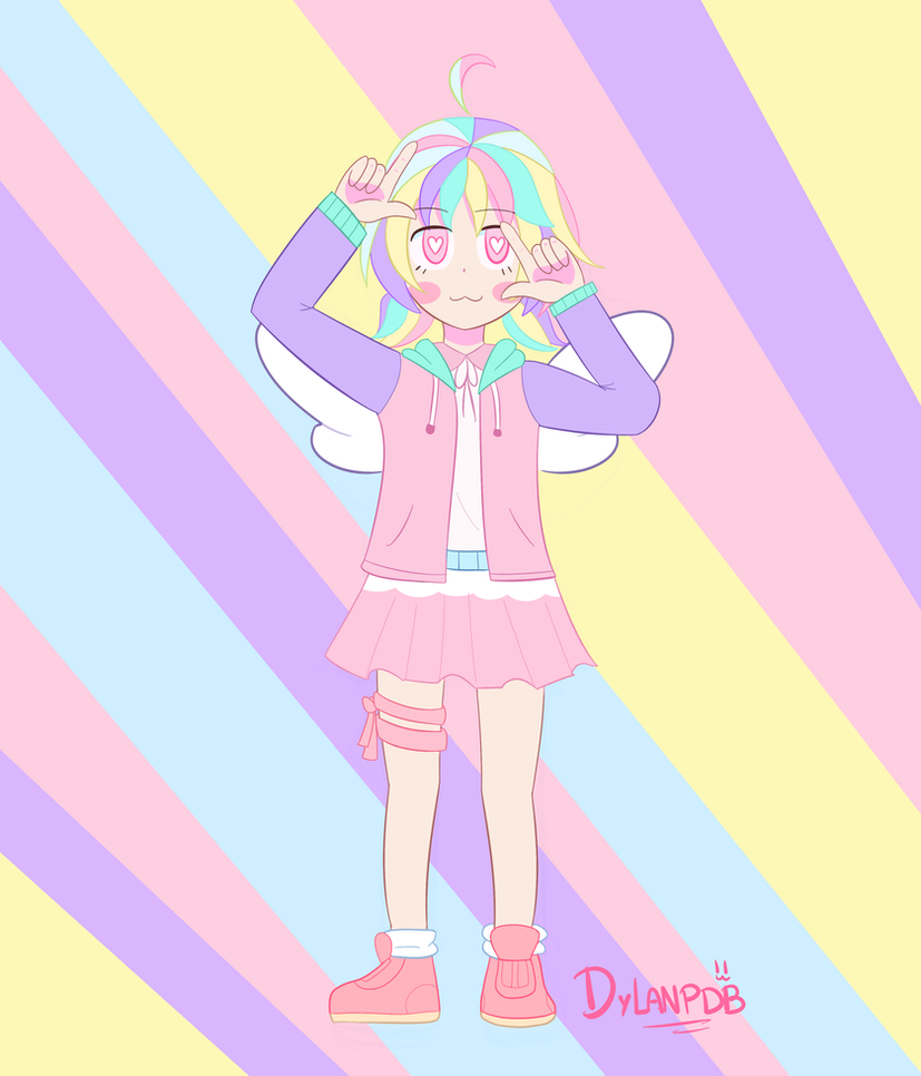 Pastel girl challenge! by animetomodachi