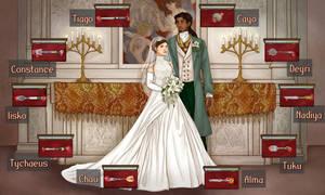 Adien and Matilda Nitvel's wedding