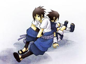Naruto : Sasuke by kim57n