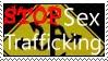 Stop Sex trafficking Stamp by Starstoryteller