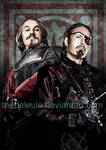 Richelieu and Rochefort by NebelEule