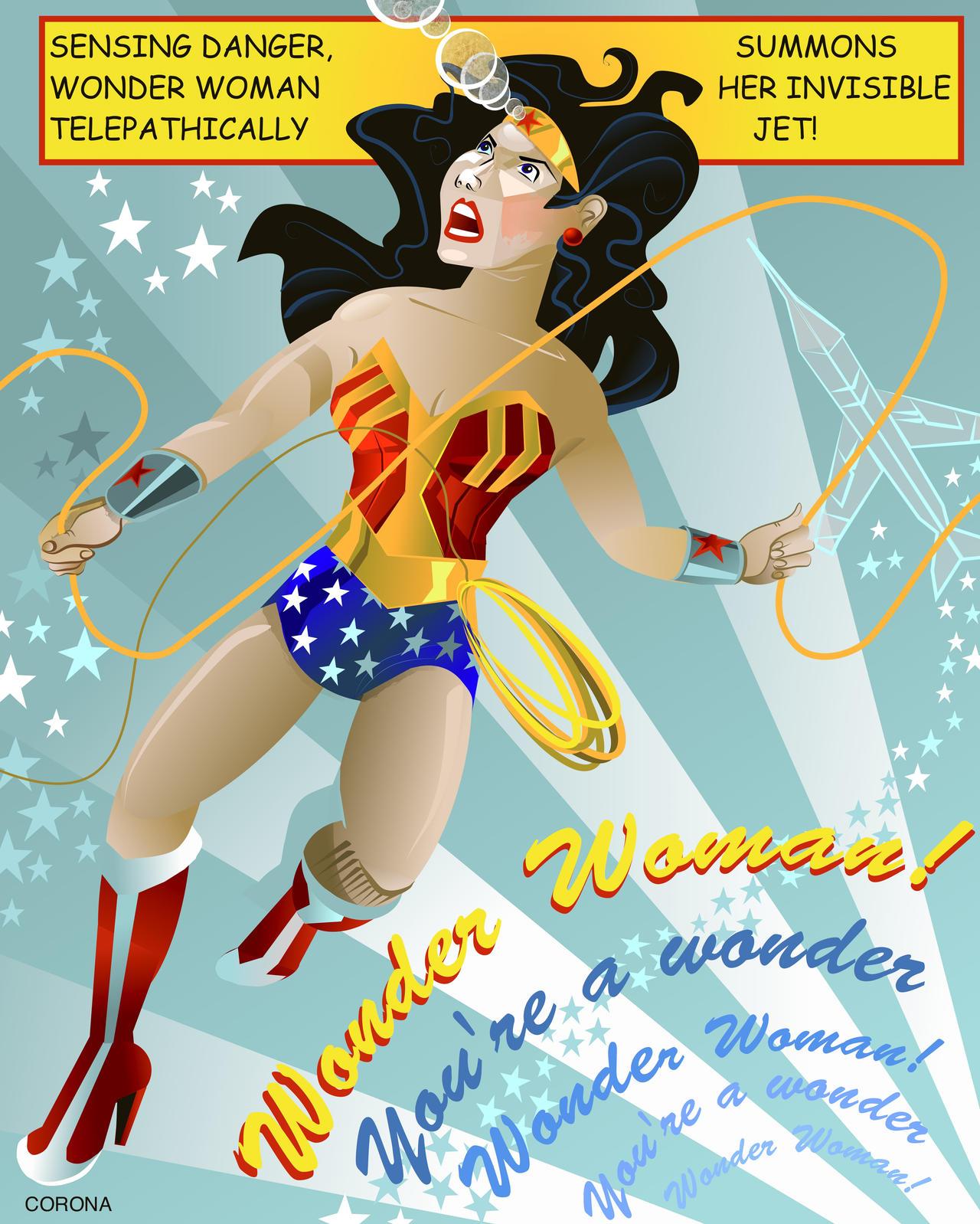 wonder woman by rac3775