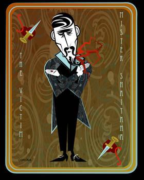 Cards on the Table Mr. Shaitana