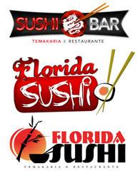 Logos Florida Sushi by luh-yart
