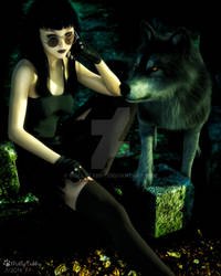 Salem and her Wolf