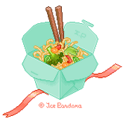 Take Out Chinese Noodles by Ice-Pandora