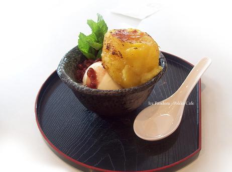 Vanilla ice with sweet potatoe by Ice-Pandora