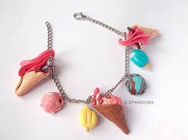 Ice Cream Bracelet by Ice-Pandora