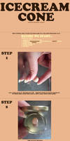 Ice cream cone tutorial by Ice-Pandora