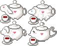 Animal teapots by Ice-Pandora