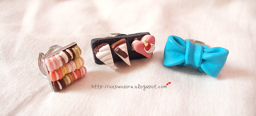 Ring Collection 01 by Ice-Pandora