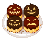 Chocolate Pumpkins by Ice-Pandora