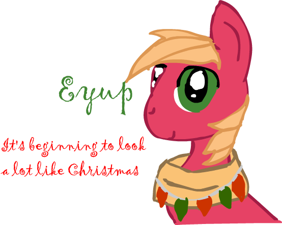 Big Macintosh Christmas by Sasifrass