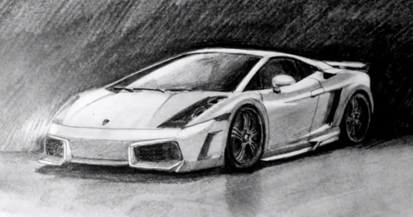 LAMBORGHINI GALLARDO By Speed Drawing Italia by ...