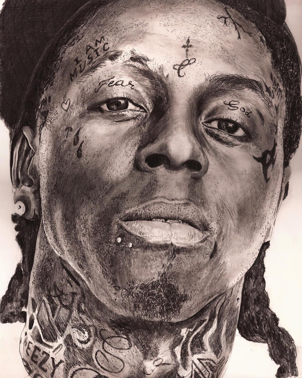 Pencil Drawings Of Lil Wayne Lil Wayne SPEED DRAWIN...
