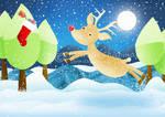 Rudolph's Christmas stocking