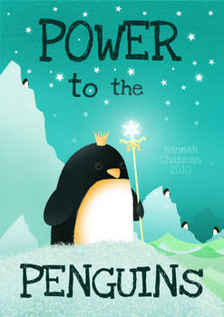 Power to the penguins ...