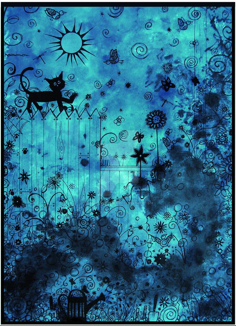 LAZY GARDEN by HannahChapman