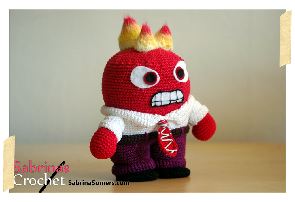 Anger (Inside Out) by sabrinapina on DeviantArt