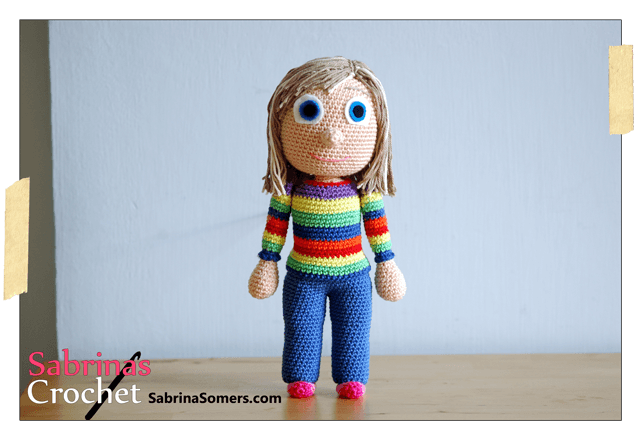 Inside Out Amigurumi Patterns : Riley (Inside Out) by sabrinapina on DeviantArt