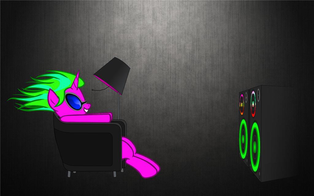 ponies-vinyl-scratch-maxell-funny - CopyRS