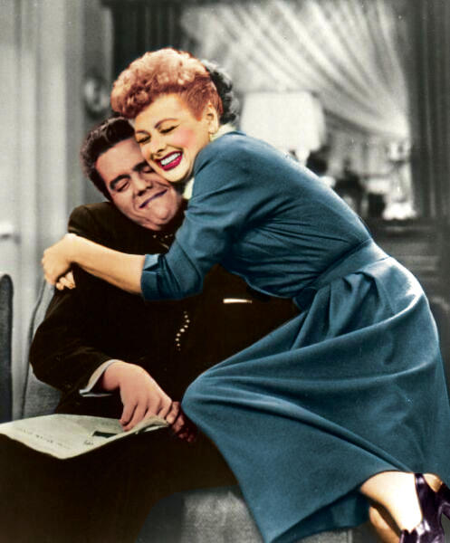 I Love Lucy In Color By Poo On You On Deviantart
