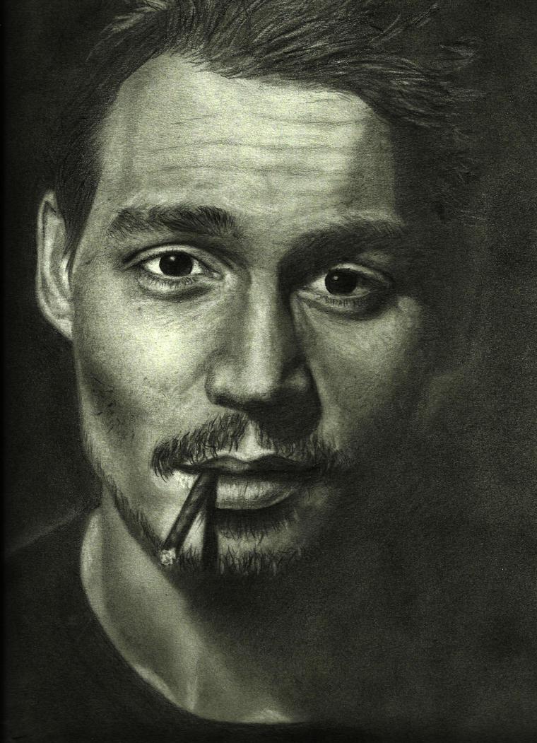 Johnny Depp by angelfalls714