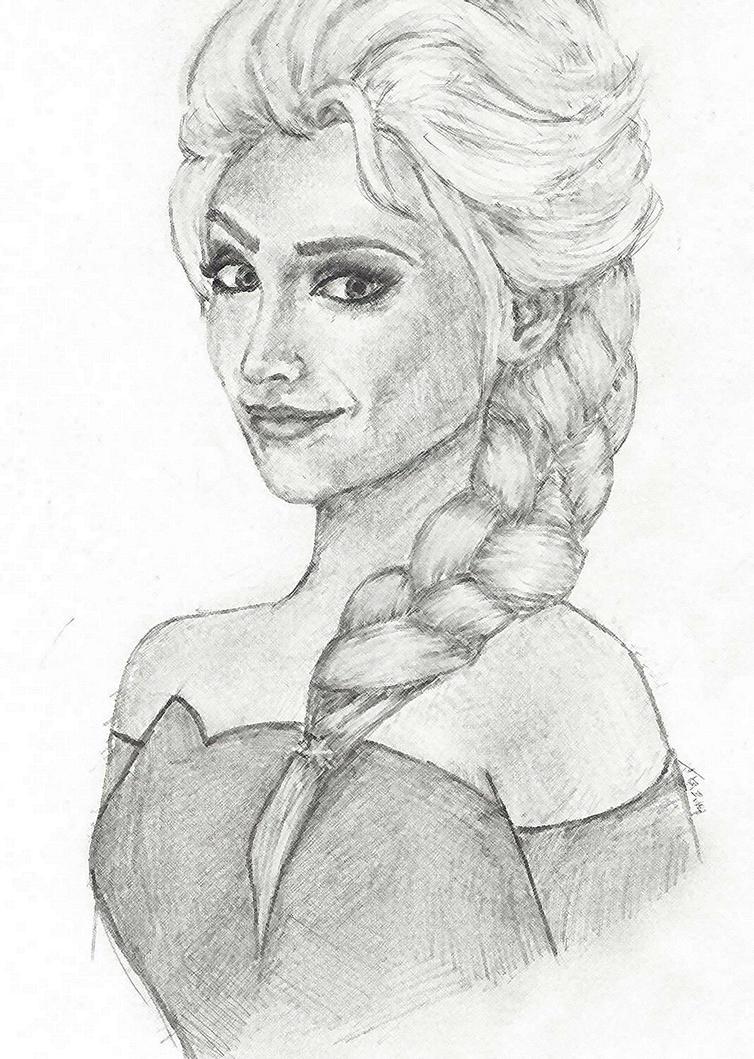 Elsa - Frozen by angelfalls714