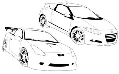 CRZ and Celica