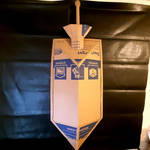 diy kite shield and broadsword w/extending handle