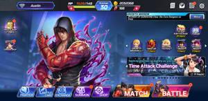 My KOF All-stars X Tekken 7 Home Page