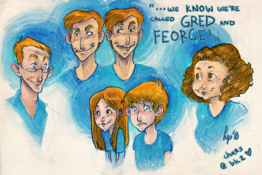 Gred and Feorge