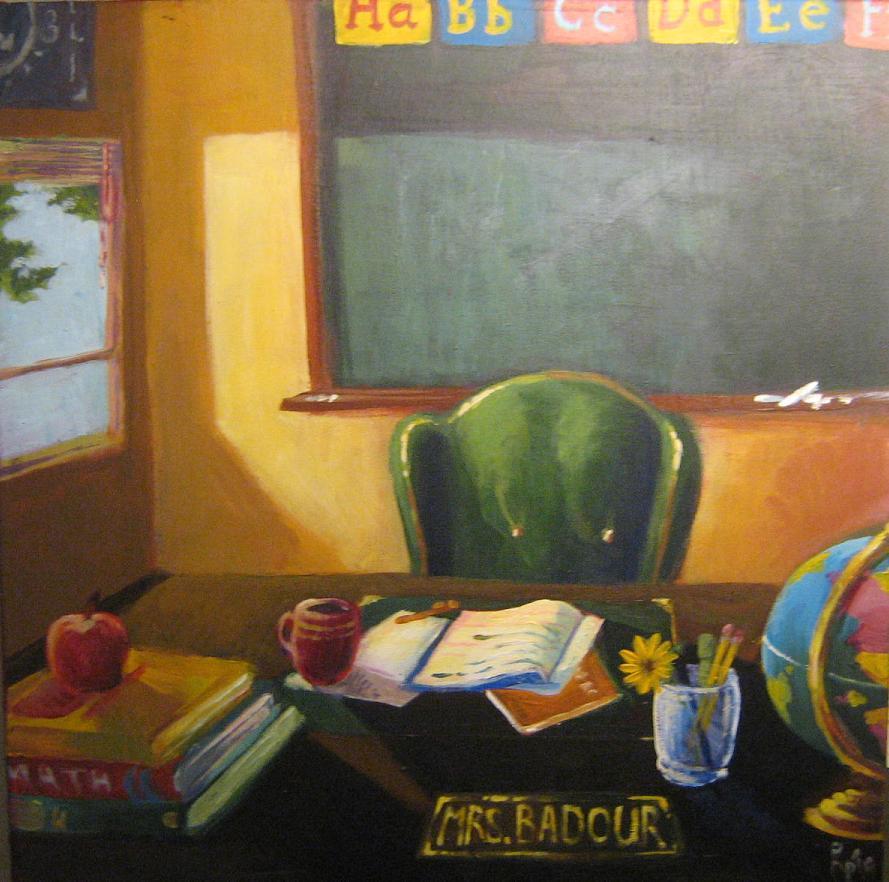 Mrs. Badour by Hoperin