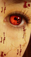 bloody eyes of death by KarinaBlacklives