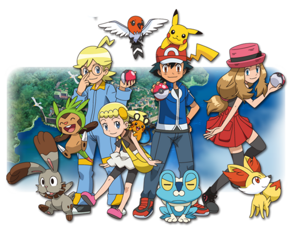 Pokemon And Y Cartoon Characters : Pokemon and y by thinknoodleskopi on deviantart