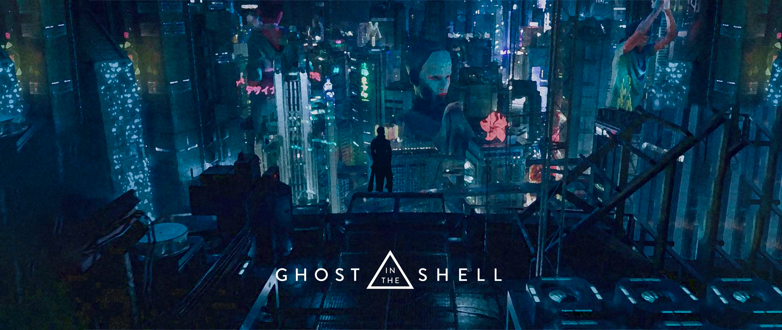 Ghost In The Shell 2017 Wallpaper 2560x1080 Png By Kenshi337 On
