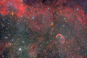 NGC6888 Crescent Nebula by ZeSly