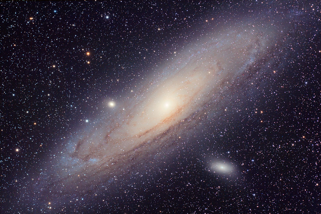 The Andromeda Galaxy by ZeSly